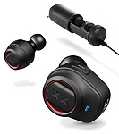 JVC XTREME XPLOSIVES - In-Ear Sport Wireless Fitness Headphones with Mic & Remote Headphones - HA-XC70BT