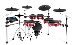Alesis Strike Pro Kit - Eleven-Piece Professional Electronic Drum Kit with Mesh Heads