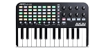 AKAI Professional APC Key 25 - Compact USB Bus-Powered 40-Button Clip Launcher for Ableton Live with 25-Note Keyboard and 8 Fully-Assignable Q-Link Controls plus VIP 3.0 and Software Package Included