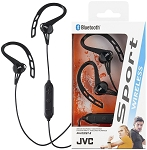 JVCSPORTS WIRELESS - Bluetooth Ear-Clip with Mic & Remote Headphone - HA-EC20BT
