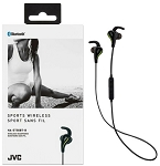 JVC SPORTS WIRELESS - Bluetooth In-Ear with Mic & Remote for Serious Athletes Headphone - HA-ET50BT
