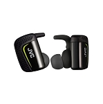 JVC SPORTS WIRELESS - Completely Wireless Bluetooth In-Ear with Mic & Remote for Serious Athletes Headphone - HA-ET90BT