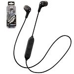 JVC GUMY WIRELESS - Bluetooth In-Ear with Mic & Remote Headphones - HA-FX9BT