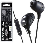 JVC Marshmallow in-ear w/ Mic & Remote Headphones - HA-FX38M